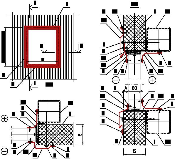 Обрамление ворот при монтаже